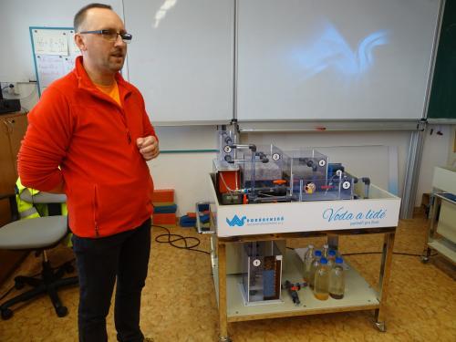 Přednáška o pitné vodě